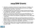 easycbm grants