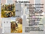 the weak articles