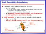 vddl possibility calculation