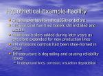hypothetical example facility