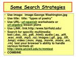 some search strategies1
