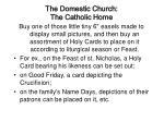 the domestic church the catholic home14