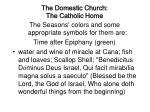 the domestic church the catholic home18