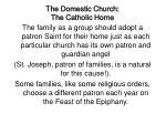 the domestic church the catholic home27
