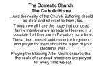 the domestic church the catholic home29