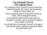 the domestic church the catholic home32