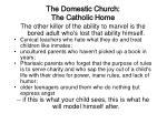 the domestic church the catholic home35
