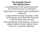 the domestic church the catholic home8