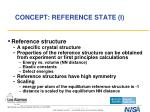 concept reference state i