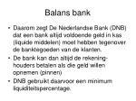 balans bank5