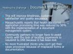 meeting the challenge document management3