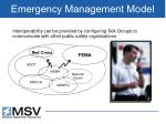 emergency management model