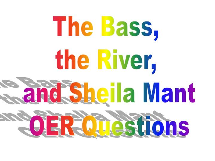 analysis of the bass the river