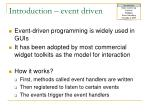 introduction event driven1