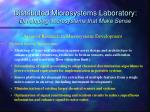 distributed microsystems laboratory developing microsystems that make sense1