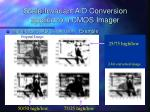 scale invariant a d conversion applied to a cmos imager1