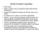 ad b prezident republiky