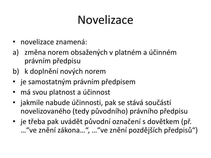 Novelizace
