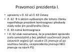 pravomoci prezidenta i