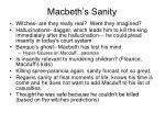 macbeth s sanity