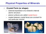 physical properties of minerals4