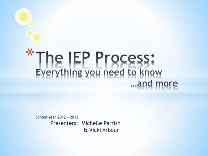 the iep process everything you need to know and more n.