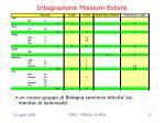integrazione missioni estere