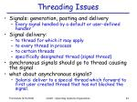 threading issues1