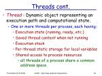 threads cont