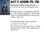 act v scene vii viii