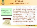 etapas implementacion3