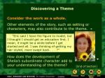 discovering a theme6