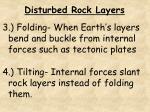 disturbed rock layers1