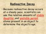 radioactive decay1