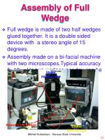 assembly of full wedge
