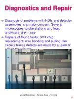 diagnostics and repair