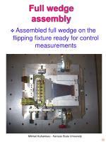 full wedge assembly