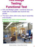 hdi wedge testing functional test