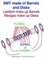 smt made of barrels and disks ladders make up barrels wedges make up disks