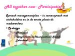 all together now participatief