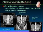 normal manifestations7