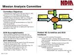mission analysis committee2