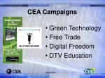 cea campaigns