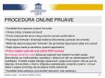 procedura online prijave