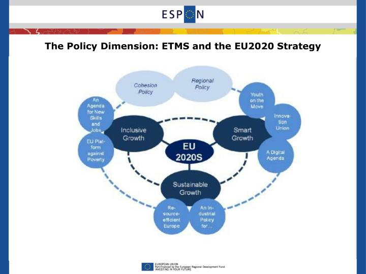 The Policy Dimension: ETMS and the EU2020 Strategy