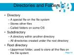 directories and folders1
