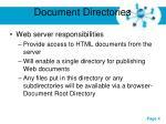 document directories