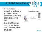 lab 3 6 transferring files