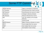 some ftp command