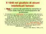 il 1848 nel giudizio di alcuni intellettuali famosi3